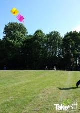 <h5>Vliegeren</h5><p>Reuzenvliegers bouwen en vliegen tijdens een bedrijfsuitje.</p>