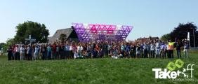 <h5>Megavlieger met 200 personen gebouwd</h5><p>Hele mooie megavlieger gebouwd met de gemeente Bronckhorst! Mooi personeelsuitje.</p>
