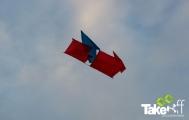 <h5>Originele doosvlieger</h5><p>Originele doosvlieger gebouwd tijdens deze workshop. Hij vloog goed!</p>