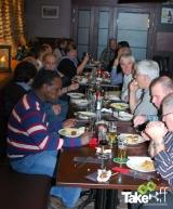 <h5>Afsluitend diner in de Admiraal</h5><p>Na afloop had restaurant De Admiraal uit Harderwijk een lekkere BBQ verzorgt!</p>