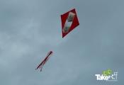 <h5>aerodynamische vlieger</h5><p>Deze vlieger was pijlsnel in de lucht!</p>