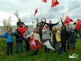 <h5>Bedrijfsuitje reuzenvlieger bouwen</h5><p>Bedrijfsuitje Reuzenvlieger bouwen in Harderwijk. Super leuk!</p>