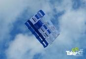 <h5>Megavlieger van SIDN</h5><p>Grote Megavlieger in Bergen aan Zee. Binnen twee uur gebouwd in een teambuilding workshop.</p>