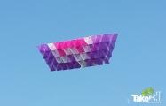 <h5>Megavlieger 200 personen</h5><p>Megavlieger gebouwd met 200 personen tijdens een bedrijfsuitje in de achterhoek.</p>