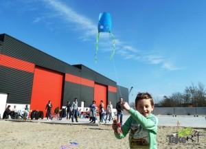 Leuke familiedag in Harderwijk waarbij de kinderen hele leuke kindervliegers hebben gemaakt. Deze kindervliegers vliegen bijna altijd!