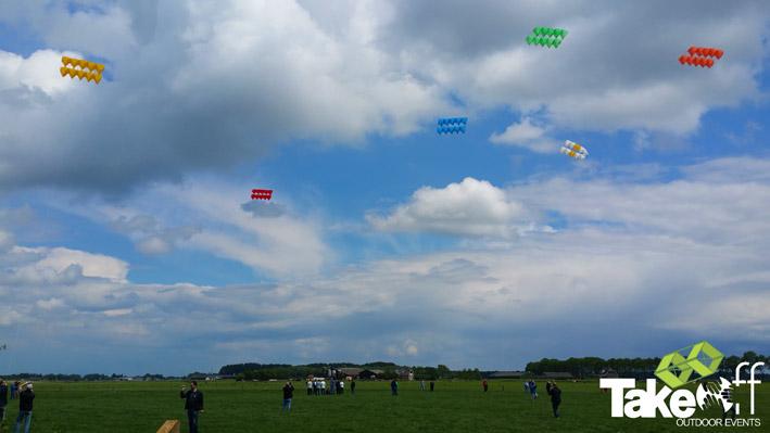 Al die megavliegers in de lucht is een erg mooi gezicht.