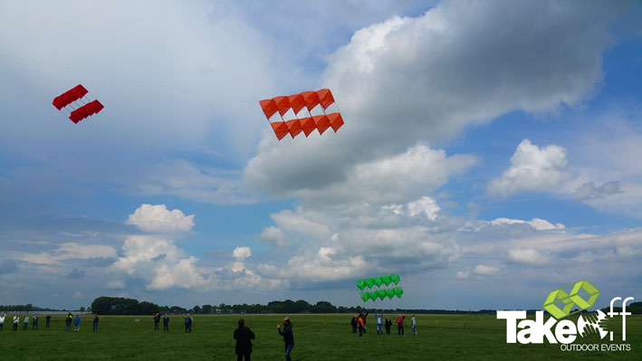 De eerste Megavliegers gaan de lucht in.