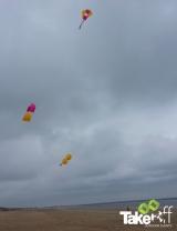 <h5>Workshop vliegers bouwen</h5><p>Bedrijfsuitje workshop vliegers bouwen. Mooi eindresultaat in de lucht bij Rockanje.</p>