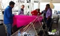 <h5>Samenwerking</h5><p>Als team een vlieger bouwen vergt ook overleg en samenwerking. Erg leuk!</p>