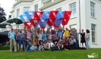 <h5>Teamfoto</h5><p>Teamfoto van de HAN in Sonsbeek park. Mooie vlieger!</p>