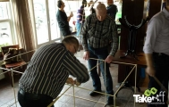 <h5>Workshop reuzevlieger bouwen.</h5><p>Leuke workshop met het bouwen van verschillende teamvliegers.</p>