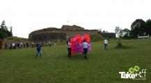 <h5>Megavlieger op de Pietersberg</h5><p>Megavlieger wordt klaar gemaakt voor lancering bovenop de Pietersberg in Maastricht.</p>