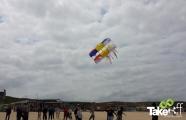 <h5>Teamvlieger in de lucht</h5><p>De vliegers gaan succesvol de lucht in! Altijd weer een mooi moment!</p>