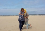 <h5>Having fun @ the beach</h5><p>Leuke foto dames!</p>