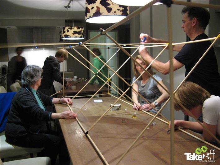 Reuzevlieger bouwen