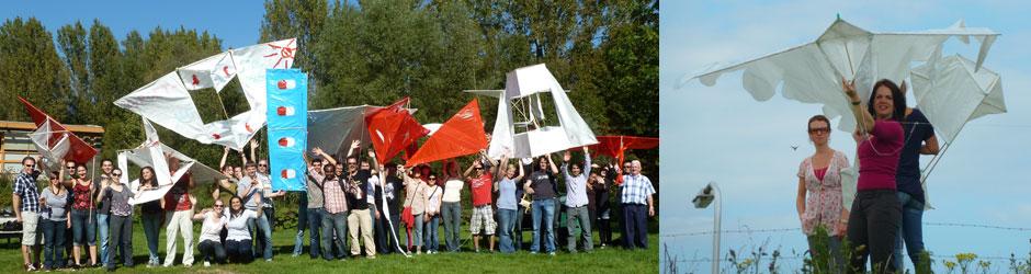 Workshop vliegers maken voor vergaderbreak of bedrijfsuitje!