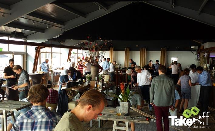 Workshop Megavlieger bouwen in Zandvoort.