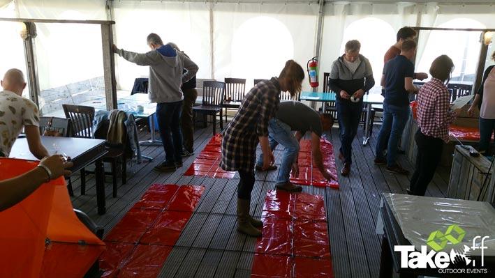 Workshop Megavlieger bouwen in Zeeland bij de Brouwersdam.